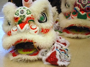 Chinese New Year Lion Dance Costume- Kid World Citizen